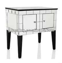 2 drawers chest living room cabinet wall console table