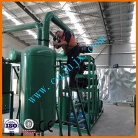 2015 hot new design waste engine Oil filtration / waste oil recycling and regeneration system /Black Motor Oil Refinery