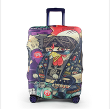 wonderful various pattern luggage cover