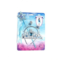 PRINCESS PLASTIC COSPLY WAND ANF FANCY CROWN FOR GIRLS