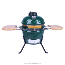 Japanese Rotating Charcoal Stove Barbecue Mini Green Kamado Grill
