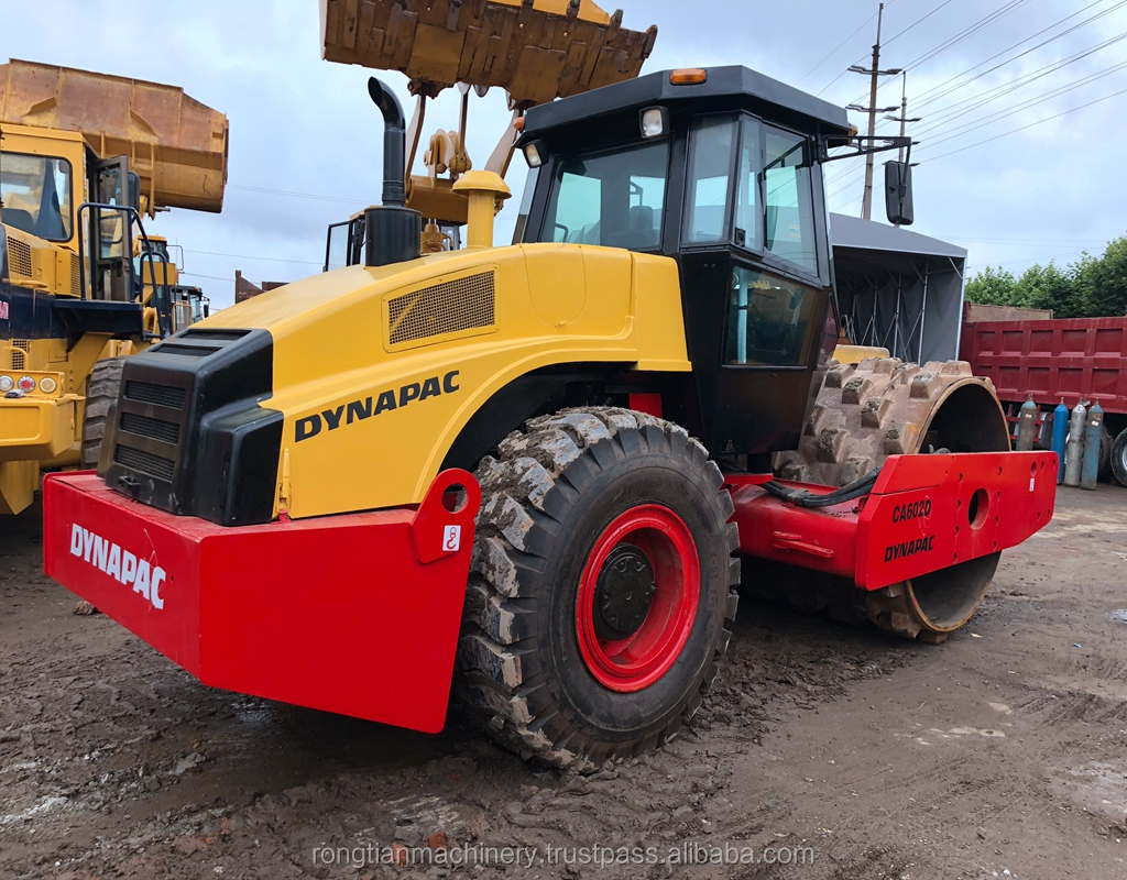 Good quality used dynapac road roller CA602 for sale/ dynapac roller with low price