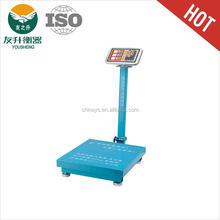 Green Color 45*50cm Table Size 350kg / 20g Capacity Digital Platform Weight Scale,Stainless Steel Indicator