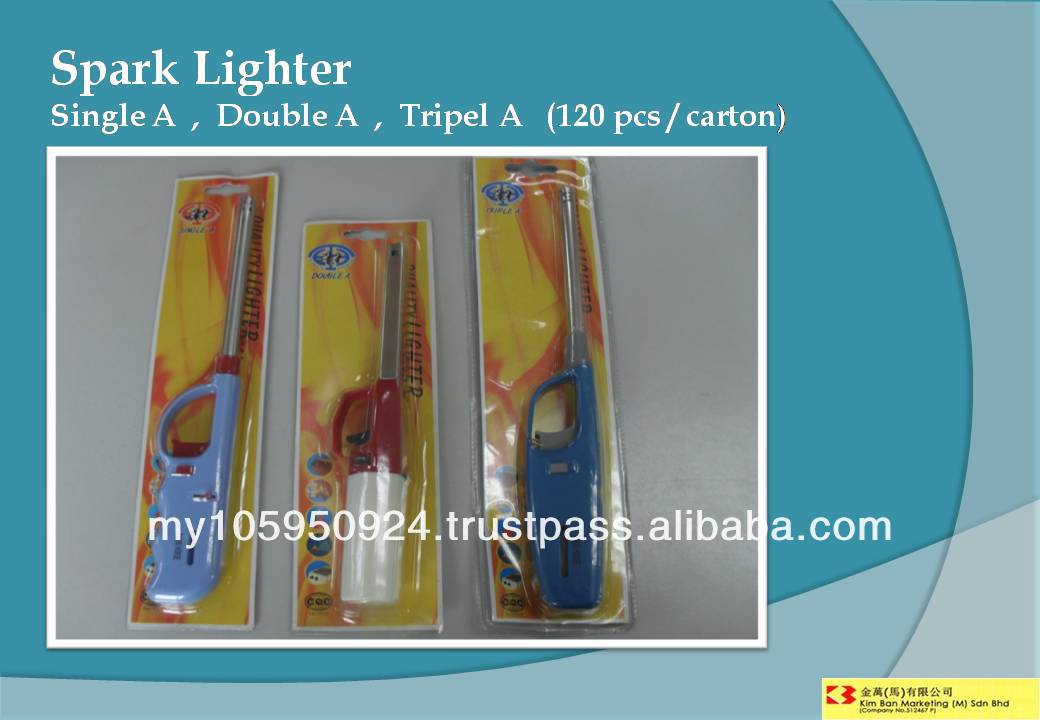 Spark Lighter ( Single A, Double A, Triple A)