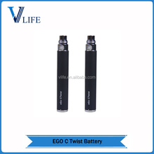 Green healthy ego c twist with variable voltage 3.2V to 4.8V baterry ego-c twist charging instructions