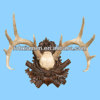 Wholesale Hot Selling Cerved Resin Deer Antler