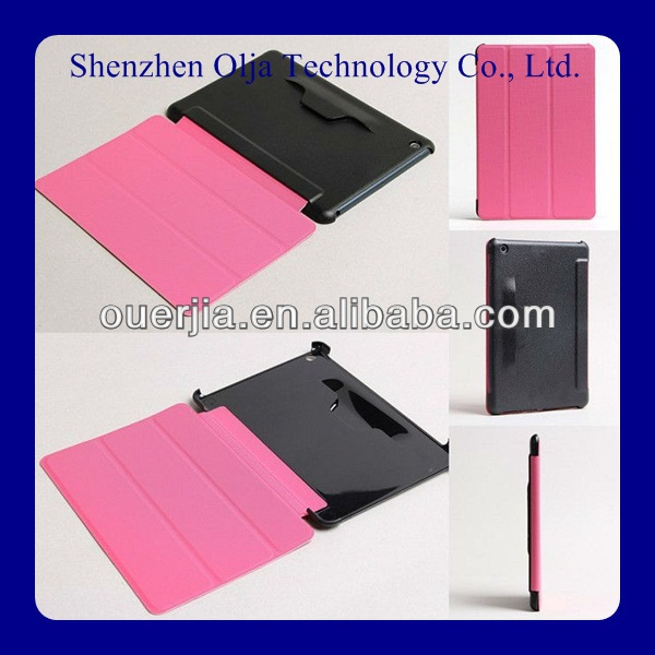 smart cover folio tablet leather case for 13.3 inch tablet pc stand