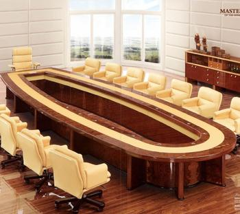 HIGH GLOSS VENEER LUXURY CONFERENCE TABLE 6 m 7m 8 m 10 m for Office Project