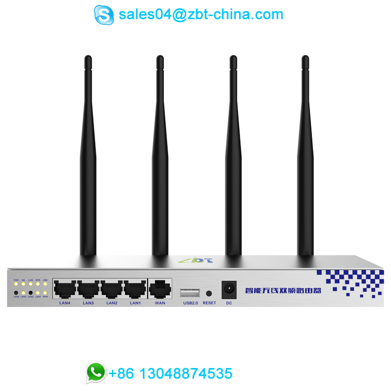 Factory direct sell high power 802.11ac 1200Mbps openWRT wireless wifi router with MT7620A+MT7612E