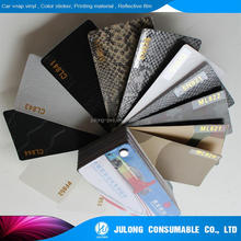 Cpaster High flexible Snake skin car wrap vinyl 1.52*30m with air channel