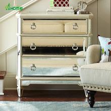 Merriweather Mirrored Chest of drawers - Antique White