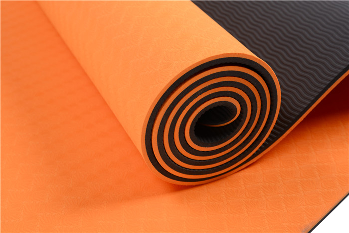 hot selling private label tpe yoga mat for promotion