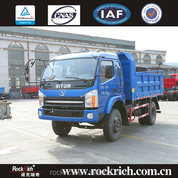 To export china supplier 9ton left hand drive mining dump truck tipper