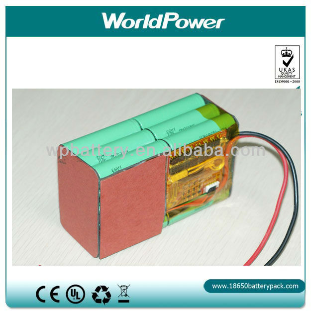 11.1v 10000mAhLi-ion Battery Pack/Akku(WP-BP-31000)