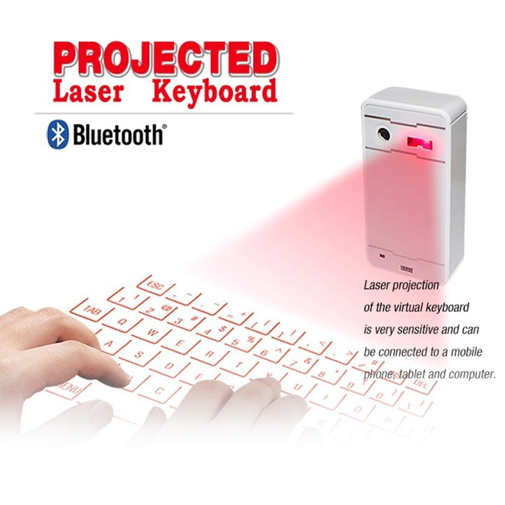 Hot projection virtual mini bluetooth keyboard for iphone5s