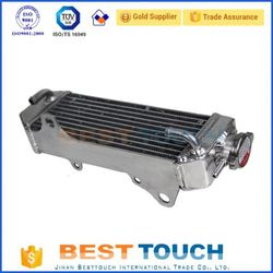 Cooling system GRIZZLY 660 YFM660 ATV 4X4 2002-2008 motorcycle price of radiator for YAMAHA