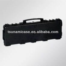 High quality!Waterproof hard plastic gun display case/hunting