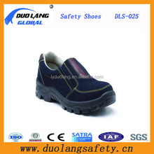 2016 New style Genuine cow leather anti-slip industrial safety shoes