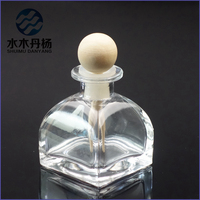 50ml reed diffuser glass fragrance bottle for air feshener with cork stoppers
