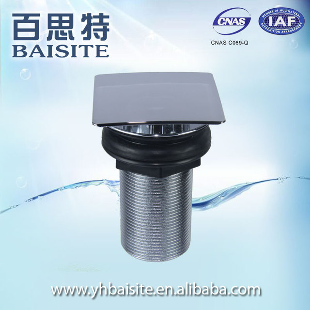 Factory Basin Plug Waste Drainer Wholesale ABS Overflow Hole Cheap Drainer