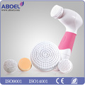 New Product Skin Scrubber-ABOEL ABB201 Facial Massage Equipment Spin Spa Waterproof Electric Body Face Brush