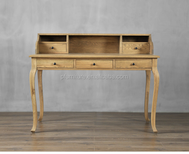 CD0819-2 solid wood Bedroom study floding stretch extension plate multi-function desk storage cabinet