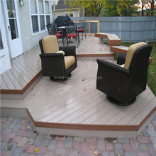 high quality outdoor WPC composite decking WPC composite wood decking cheapest price outdoor WPC wood
