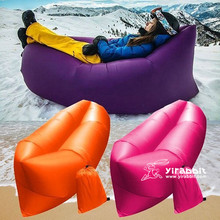 High Quality Cheap Leisure Inflatable Air Sofa/air Bed Chair/fast Filled Easy Blow Up Chair Bed