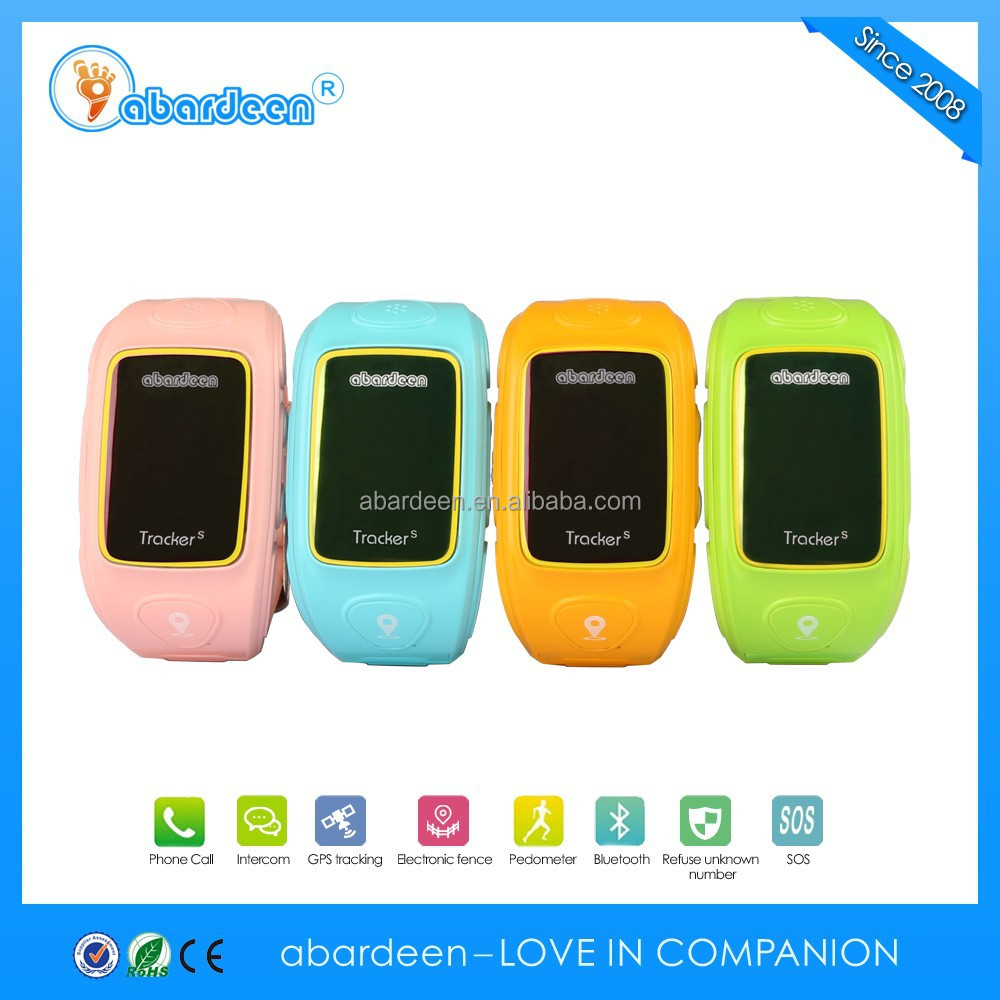 Kids gps tracker which light sensor can judge whether it falls off from the wrist