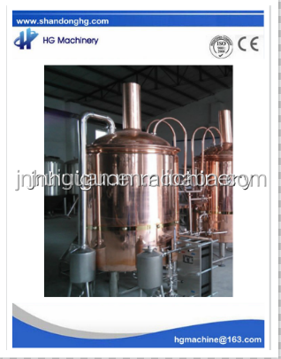 High quality 500L copper brewery equipment