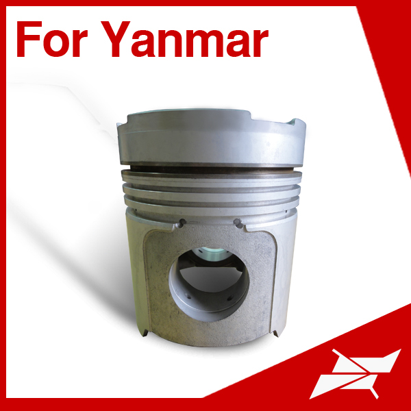 Taiwan piston for Yanmar 6LA-DT marine engine spare parts