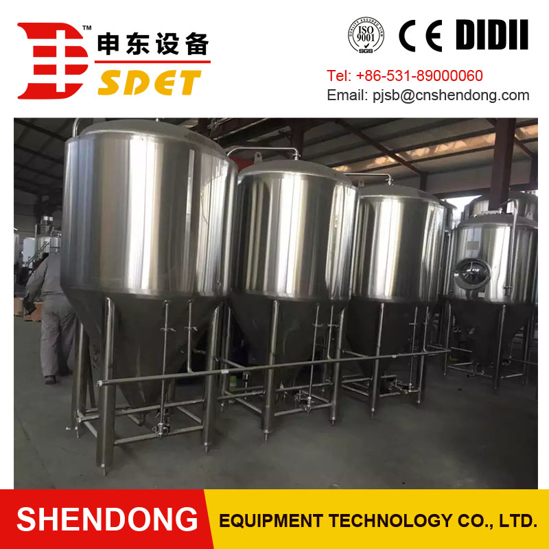 SDET-7bbl micro beer machine brewing equipment for vending