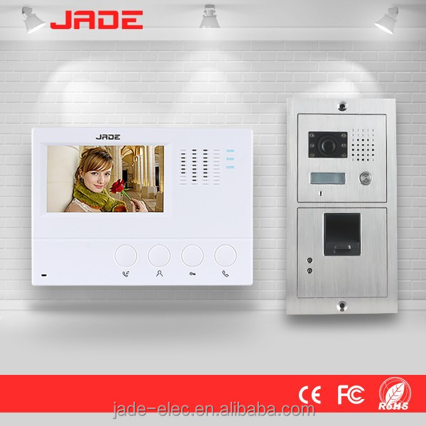 "4.3""inch access control system video doorphone for multi apartment Multi apartments building video"