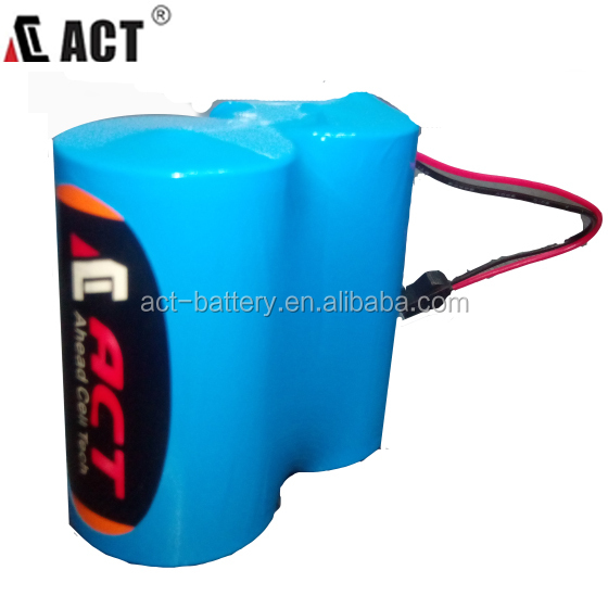 7.2V D 19Ah primary lithium battery ER34615/ER34615H/ER34615M lithium battery pack