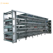 H-type chicken poultry battery cage poultry farm commercial equipment for sale