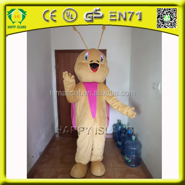 HI CE snail mascot costume with build-in cooling fan fit all adult snail mascot costume