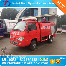 2CBM small water tank fire fighting trucks