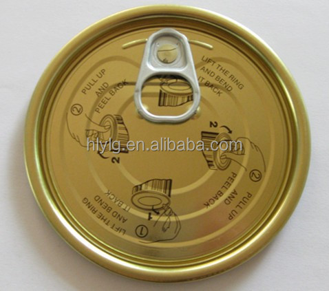 Metal Can Packing Lid Full Open End#307