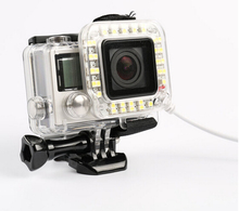 Go Pro USB LED Lamp Camera Accessories Underwater Spot for GoPro Light for Diving Waterproof Light