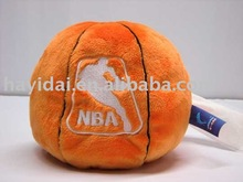 plush basket ball tissue holder soft toy