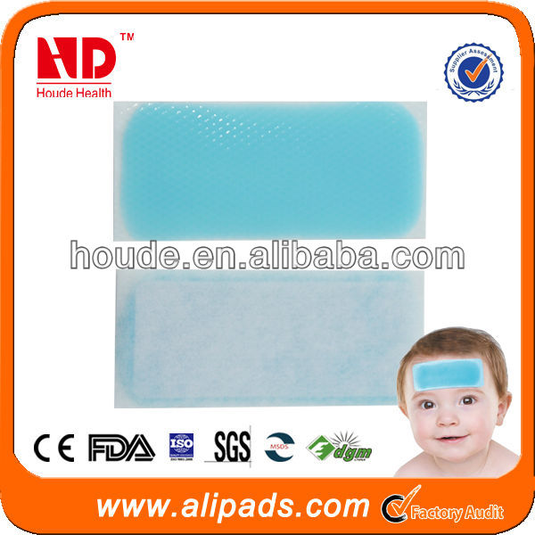 2014hot sell disposable cool gel pad for body from direct factory