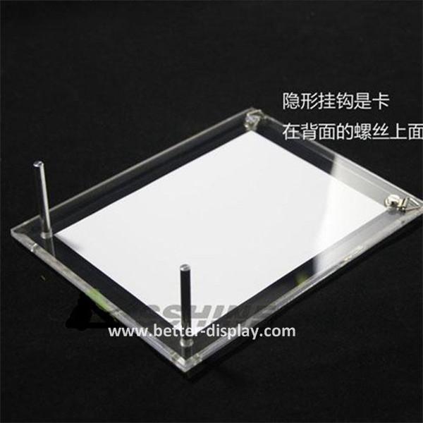 Custom poster frames plastic