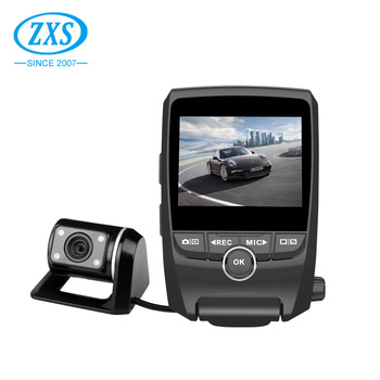 X2 Car Video Recorder Night Vision ,Front And Back Full Hd 1080P Wifi Gps Dual Dash Camera