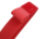 popular red elastic book strap 2cm stretchable packing strap office customized stationery strap