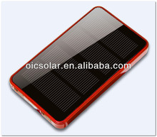 Mobile phone accessory high capacity 6000mAh phone solar charger