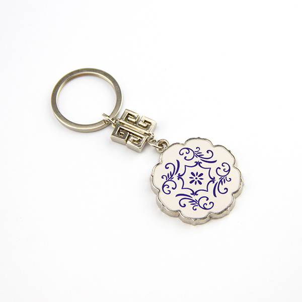 High Quality Custom Die Cutting Metal Key Chain