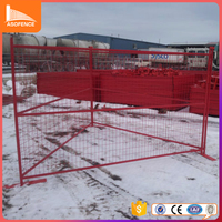 Canada Type Removable Galvanized Temporary Fence