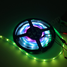 30LEDs/m 5V black light uv 50 50 rgb rainbow color led strip ws2818b