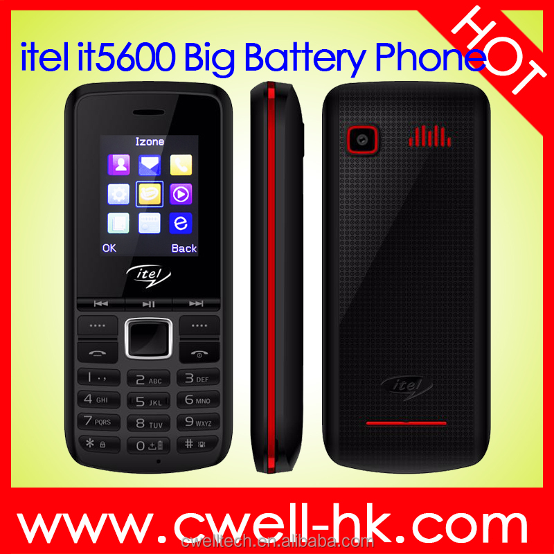 itel it5600 1.77 Inch QCIF Screen Big Battery Long Standby Feature chinese fm mobile phone