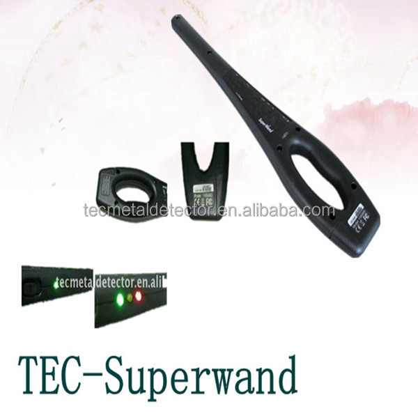 super scanner hand held metal detector Super Wand metal and bomb detector